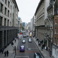 London city street scene Royalty Free Stock Photo
