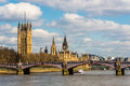 London cityscape england uk the river thames and Royalty Free Stock Photo