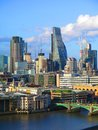London landscape, London city, business centre. City of London one of the leading centres of global finance.