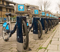 London Community Bike Scheme Stock Photography