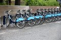 London cycle hire Royalty Free Stock Photos