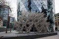 London dec ai weiwei s new forever sculpture outside lond gherkin building in on Stock Photography