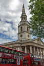 LONDON, ENGLAND - JUNE 16 2016- St Martin-in-the-Fields church,  London, England, Great Britain