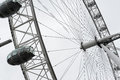 London eye the in the capital city of england Royalty Free Stock Photography