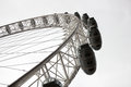 London eye at city united kingdom as seen on th of january Royalty Free Stock Images