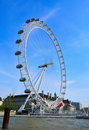 London Eye, in London, United Kingdom Stock Images