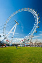 London Eye, UK. Royalty Free Stock Photos