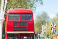 London famous red buses Stock Image