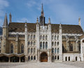 London guildhall the historic in the city of england united kingdom Royalty Free Stock Photography