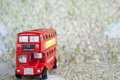 London iconic double decker bus Royalty Free Stock Photography