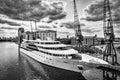 London june sunborn hotel royal victoria dock in london on Royalty Free Stock Photos