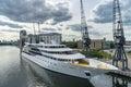 London june sunborn hotel royal victoria dock in london on Stock Image