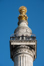 LONDON - MAR 13 : Monument to the Great Fire of London in the Ci Royalty Free Stock Photo