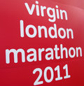 London marathon Stock Photos