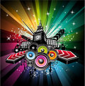 London Musical Event Background Royalty Free Stock Image