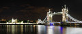 London night panorama with tower bridge at england united kingdom Stock Photo
