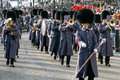London november band of the honorable artillery company m marching at lord mayor s show in on unidentified Stock Photos