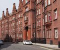 London, old  apartment building Royalty Free Stock Photo