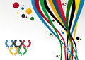 London Olympics Games 2012 background Royalty Free Stock Photo