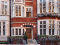 London, ornate old townhouse Royalty Free Stock Photo