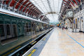 London Paddington station in London, UK Royalty Free Stock Photo