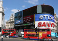 London - Piccadilly Circus Royalty Free Stock Photos