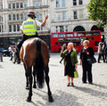 London Policeman Stock Image