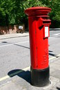 London postbox Royalty Free Stock Photo