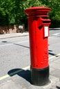 London postbox Royalty Free Stock Photo