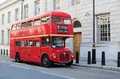 London red bus Royalty Free Stock Photo
