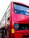 London red bus double decker on the streets of Royalty Free Stock Image