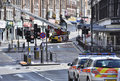 London riots aftermath, Clapham Junction Stock Photos