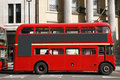 London Route Master Bus Royalty Free Stock Photo