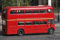 London routemasterbuss Royaltyfria Foton
