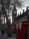 Londons landmarks for postcard Royalty Free Stock Photo