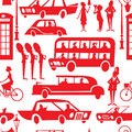 London seamless pattern Stock Image