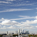 London Skyline, Canary Wharf Royalty Free Stock Images