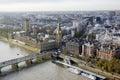 London Skyline Seen From Londo...