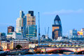 London Skylines Royalty Free Stock Images