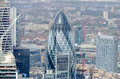 London stadshorisont Royaltyfri Bild