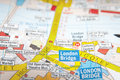 London street map Royalty Free Stock Photo