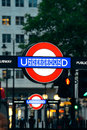 London street uk sep undergroud sign in on september in uk is the world s most visited city and the capital Stock Image