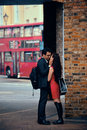 London street uk sep young couple in love in on september in uk is the world s most visited city and the Stock Images