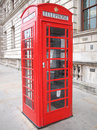 London telefonask Royaltyfria Foton