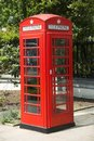 London Telephone Box Stock Image