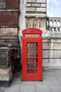 London Telephone Box Stock Photo