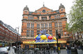 London theatre palace theatre uk may outside view of west end located on cambridge circus city of westminster since designed by Stock Photography
