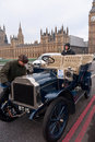 London to Brighton Car Run Royalty Free Stock Photo