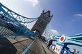 London tower bridge the famous england Royalty Free Stock Image