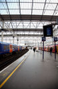 London train underground, Waterloo station Royalty Free Stock Image